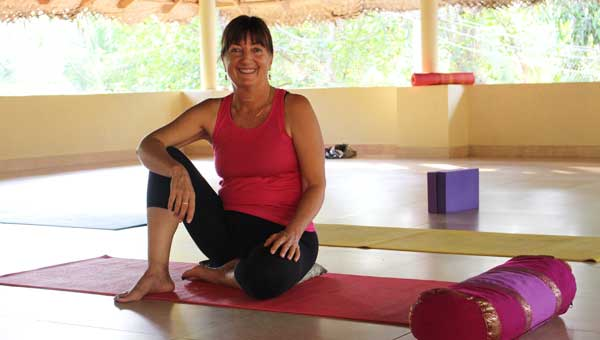 Diana Shipp, founder of Kailasam Yoga