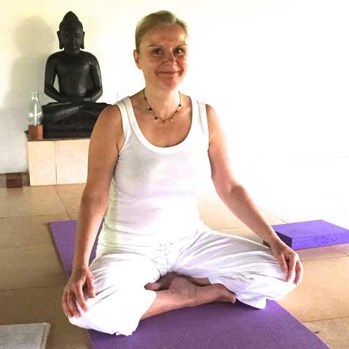 Jackie Dyson Yoga teacher