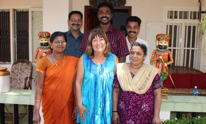 Diana Shipp and the team at Kailasam Yoga