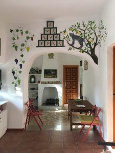 Cortijo accommodation - old farmhouse