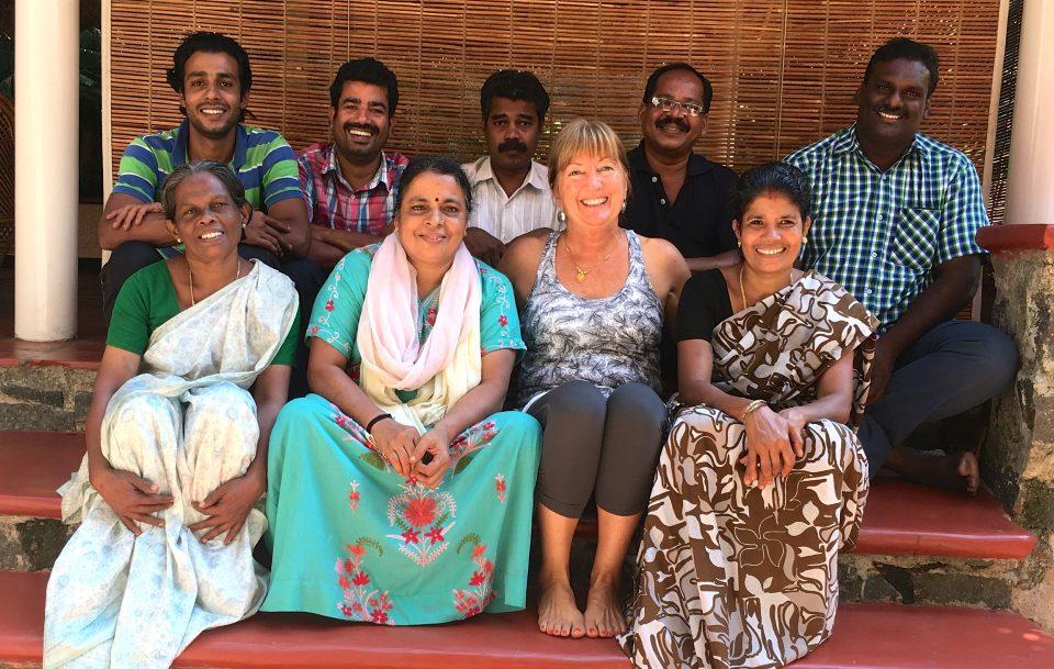 The team at Kailasam