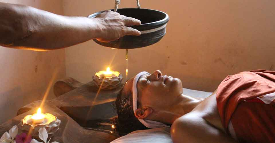 Ayurvedic treatment at Kailasam Yoga
