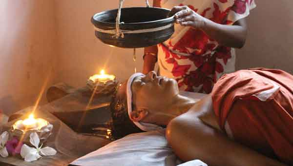 Ayurvedic treatment at Kailasam