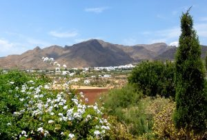 Landscape of Almeria, Spain