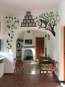 Cortijo accommodation - old farmhouse