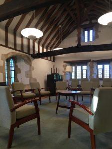 The Solar Meditation room, Charney Manor retreat