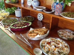 Wonderful Turkish vegetarian food